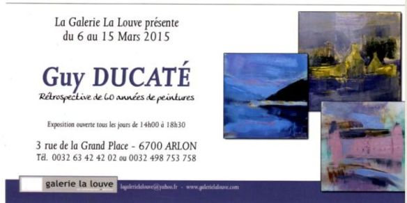 Exposition Guy DUCATE