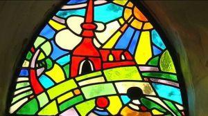 willoos vitraux de la chapelle de la Trinité (Marche)